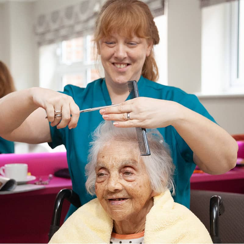 Personalised and enabling care
